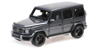 Mercedes-AMG G63 2018 grey metallic 1:18 Minichamps