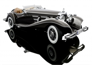 Mercedes 500K Special Roadster 1934 1:12 Bauer Exclusive