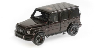 Mercedes-AMG G63 2018 red metallic 1:18 Minichamps