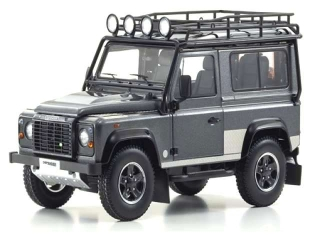 Land Rover Defender 90 dark grey 1:18 Kyosho