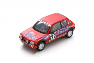 Peugeot 205 GTI #132 Delecour/Pauwels Rally Monte Carlo 1986 1:43 Spark