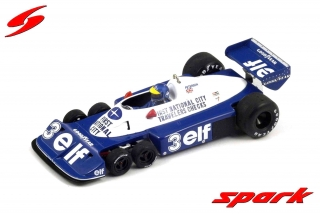 Tyrrell P34 #3 Ronnie Peterson Brazilian GP 1977 1:18 Spark
