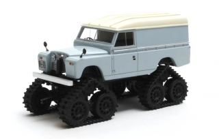 Land Rover Land 109 II Series Cuthbertson Conversion Cingolato 1958 grey 1:43 Matrix Scale Models