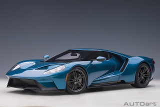 Ford GT 2017 liquid blue 1:12 AUTOArt