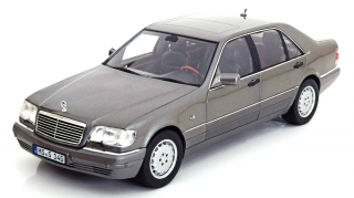 Mercedes Benz S 600 1997 grey 1:18 Norev