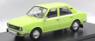 Škoda 105L 1976 light green *Škoda color 5016* 1:18 Triple9 Collection