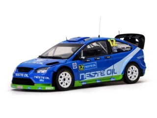 Ford Focus RS WRC08 #12 J.Kankkunen Rally Finland 2010 1:18 Sun Star
