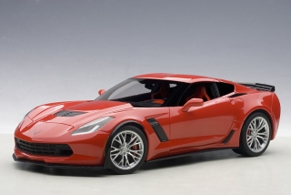 Chevrolet Corvette C7 Z06 2014 red 1:18 AUTOart