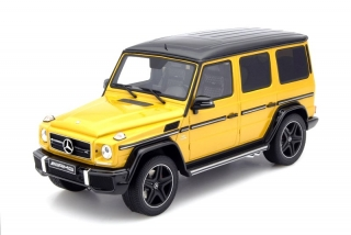 Mercedes AMG G63 Crazy Color Edition yellow 1:18 GT Spirit