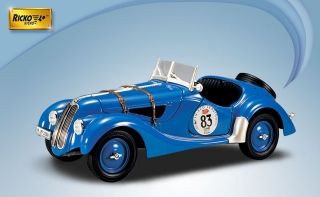 BMW 328 Rally #83 1936 1:18 Ricko